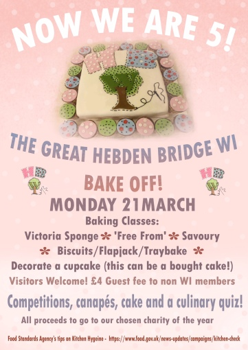 Bake off flyer