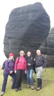 Bridestones walk