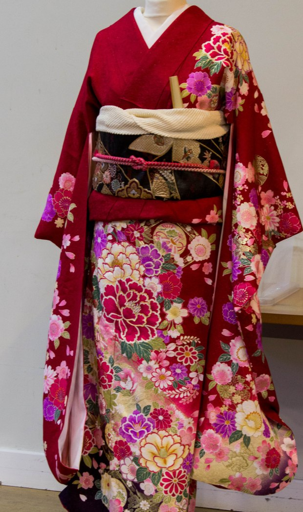 the finished kimono